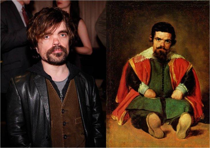 Peter Dinklage y Sebastián de Morra