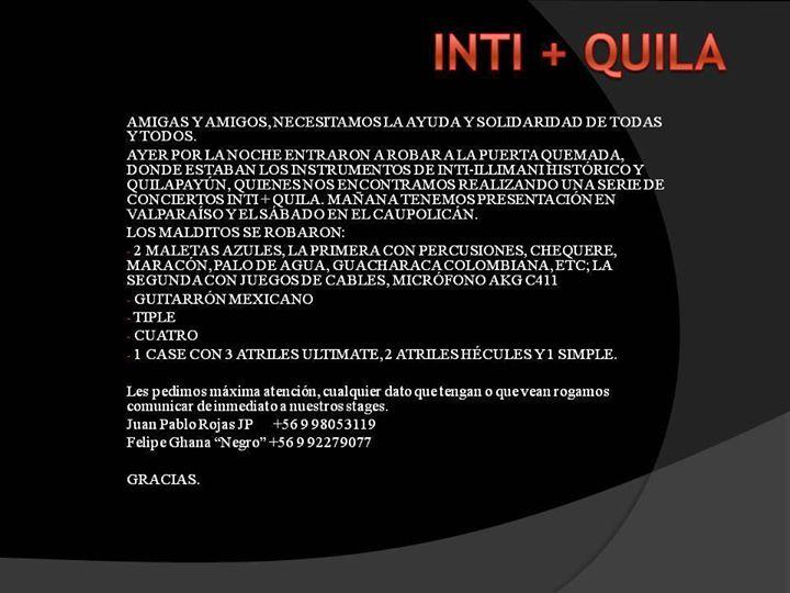 Inti-Illimani Histórico (Salinas, Seves, Durán) | Facebook