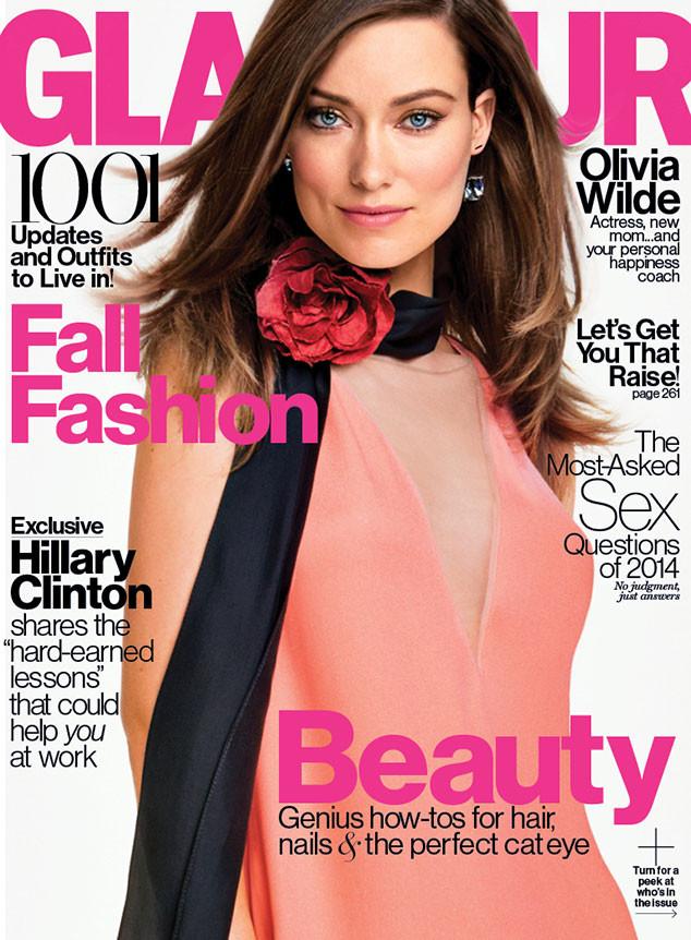 Olivia Wilde para Glamour