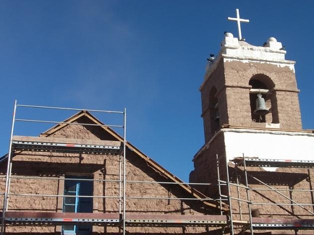 Restauración iglesia de San Pedro de Atacama | Alvaro Muñoz
