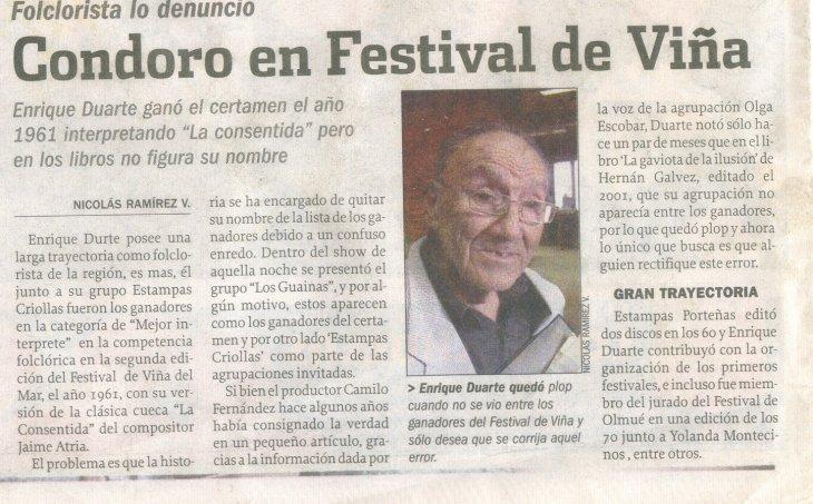 Error en Festival de Viña