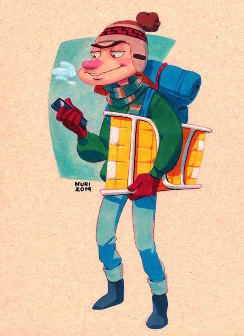 Chico del pórtico | Nuri Durr