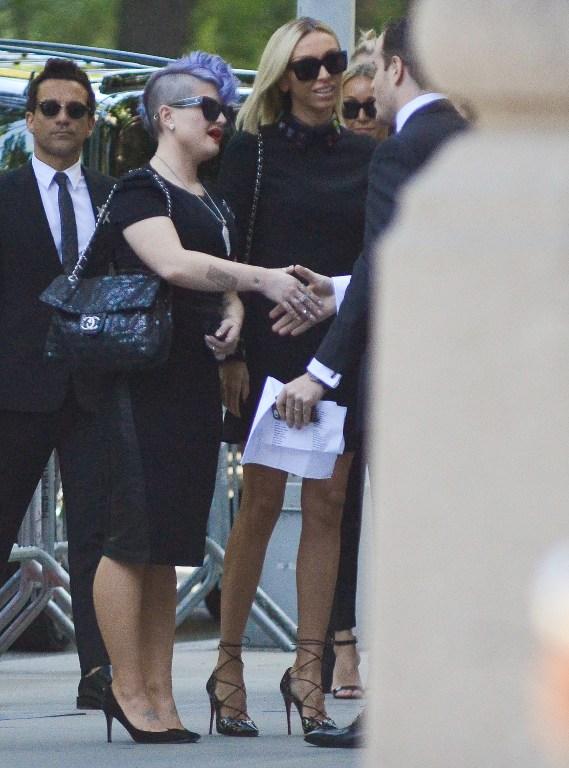 Kelly Osborne y Giuliana Rancic | Kris Connor | AFP