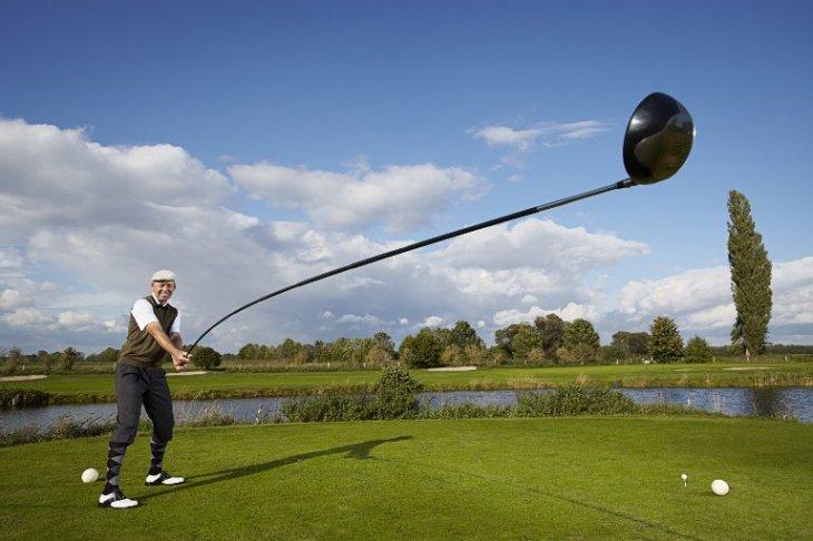 Palo de Golf más grande| GUINNESS WORLD RECORDS | AFP