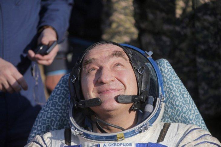 El cosmonauta Alexander Skvortsov / AFP