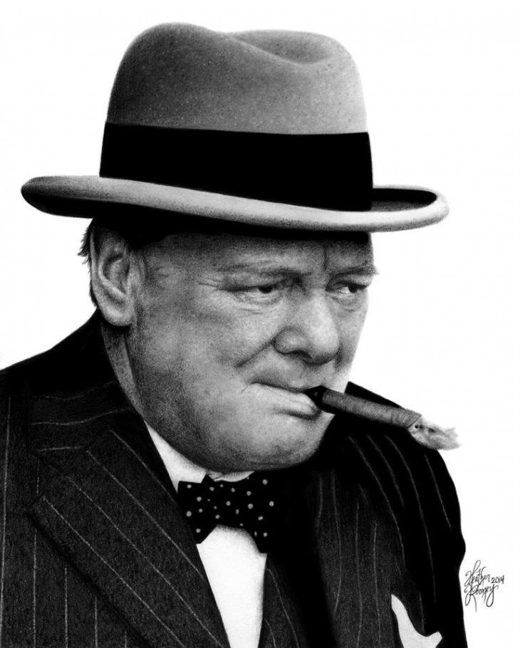 Winston Churchill | Heather Rooney