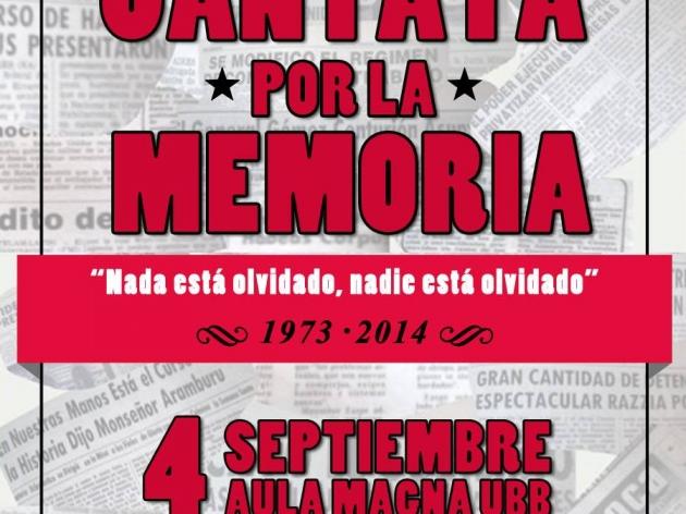 Cantata por la memoria | Claudio Briceño