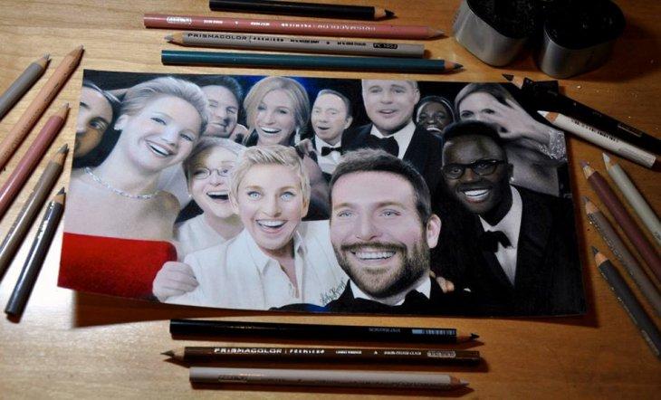 Selfie de los Oscars | Heather Rooney