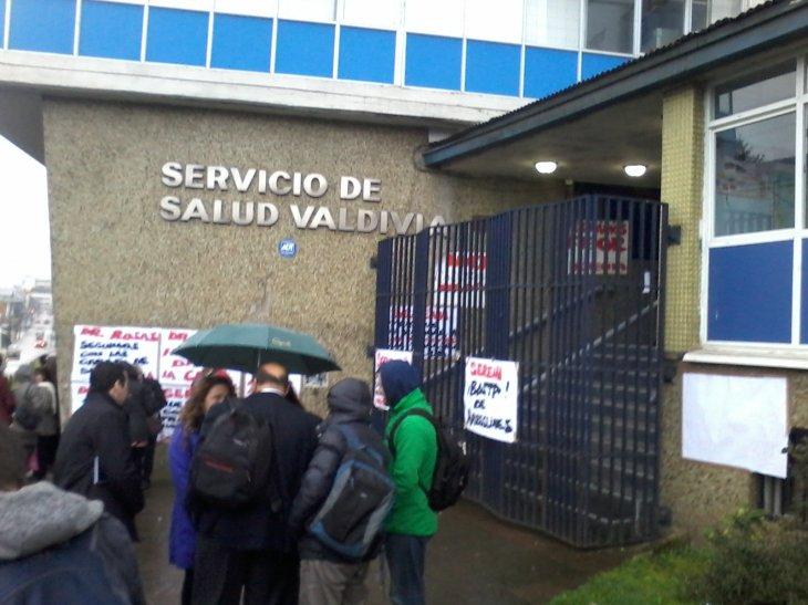 Seremi de Salud y Director del SS de Valdivia