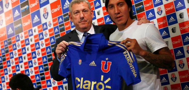 """Suárez se ilusiona con que la 'U' le sirva de """"vitrina"""": """"Todavía puedo alcanzar a Sánchez y Vidal"""" (Bio Bio) A_UNO_417702-730x350"""