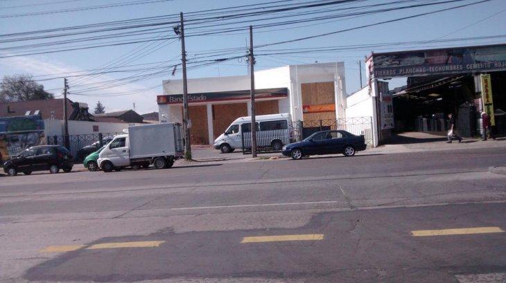BancoEstado en la comuna de El Bosque | @llanquinao