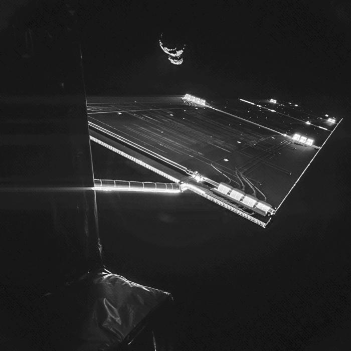 Rosetta y su selfie / ESA