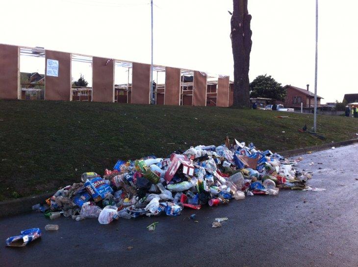Basura acumulada tras las ramadas | Pedro Cid (RBB)
