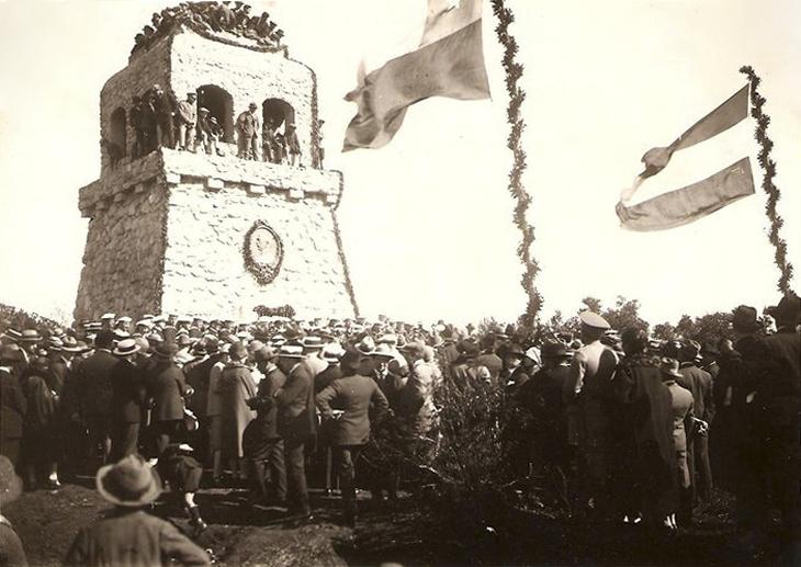 Inauguración del Mirador Alemán de Concepción