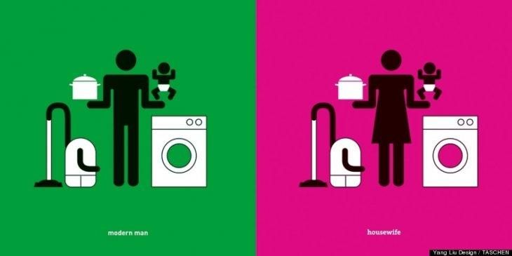 Hombre moderno vs Dueña de casa | Yang Liu