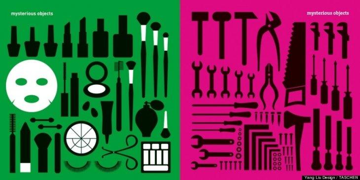 Objetos misteriosos para cada género | Yang Liu