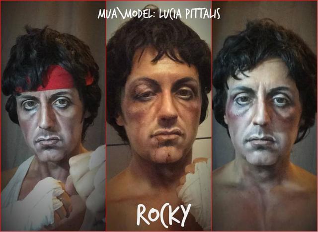 Tres versiones de Rocky