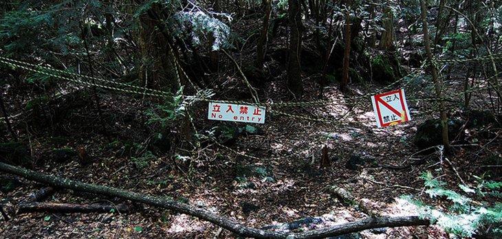 Aokigahara: El Bosque de los Suicidios Aokigahara-warning-signs1