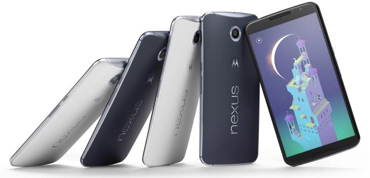 Modelos del Nexus 6 / Google