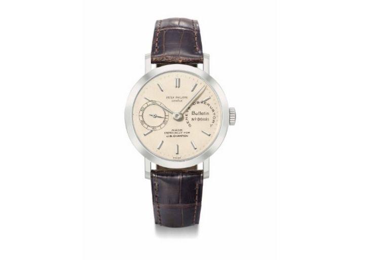 Un reloj similar a este le regaló Angelina a Brad | Patek Philippe