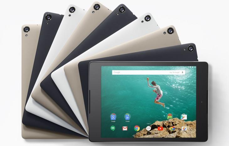 Modelos del Nexus 9 / Google