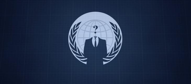 Símbolo común de Anonymous / geek.com