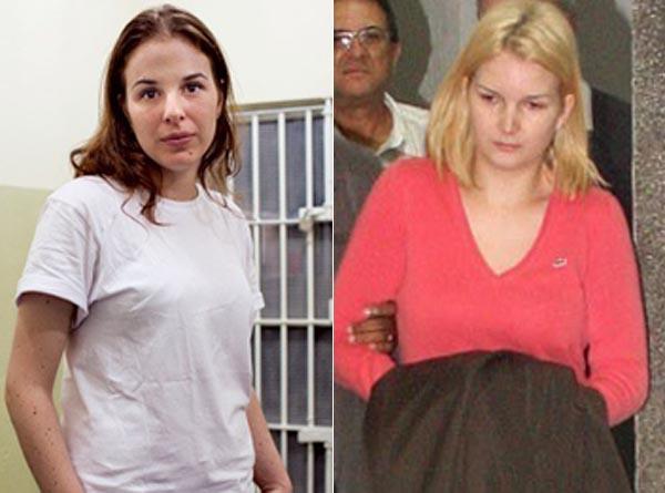 Suzane (a la izquierda) y Sandra (a la derecha) | Prensa brasileña
