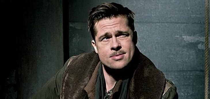 "Brad Pitt en ""Bastardos sin Gloria"""