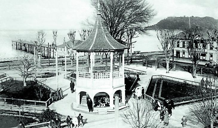 Plaza de Puerto Montt en 1929