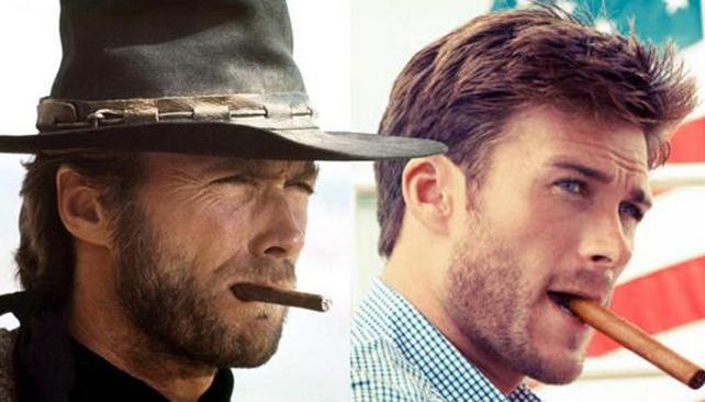Clint y Scott Eastwood