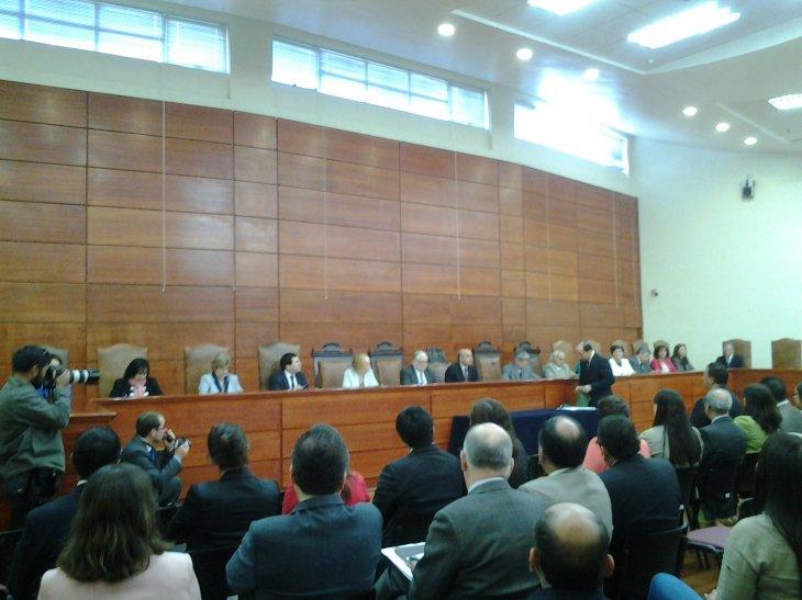 Pleno de la Corte de Apelaciones | Fabián Polanco (RBB)