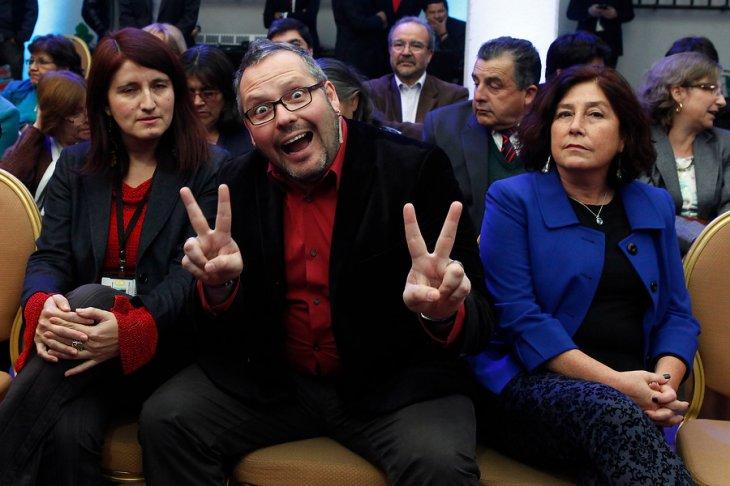 Claramente Sebastián Dávalos no está posando para la foto de carnet | Sebastian Rodriguez | Agencia UNO