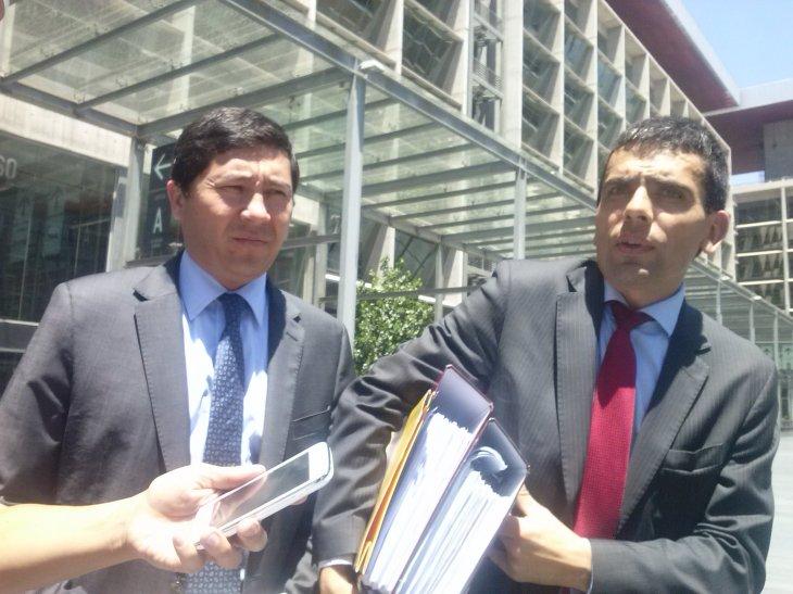 Fiscales Pablo Norambuena y Carlos Gajardo