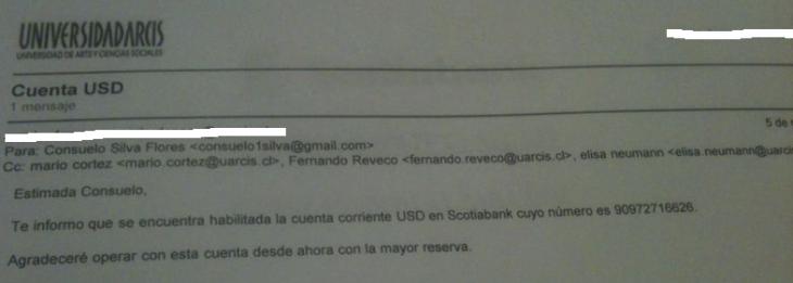 Correos electrónicos | RBB