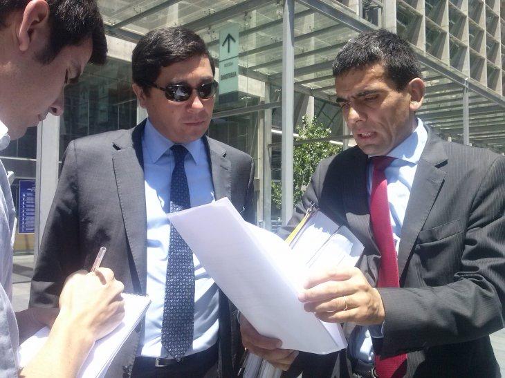 Fiscal Carlos Gajardo y Pablo Norambuena | Lorena Cruzat (RBB)