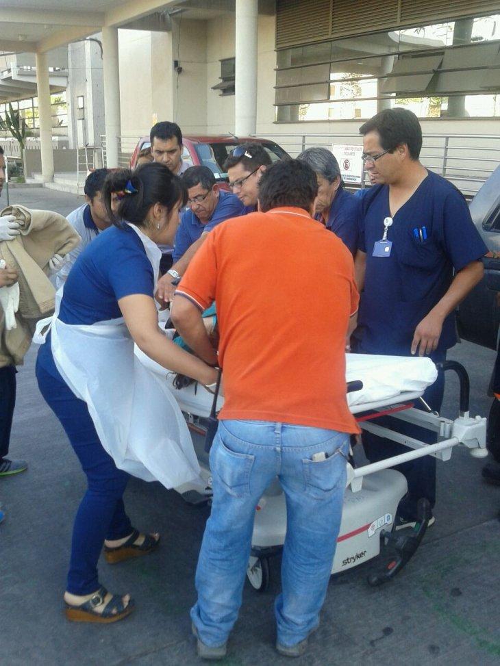 Heridos en Hospital de Arica   BBCL