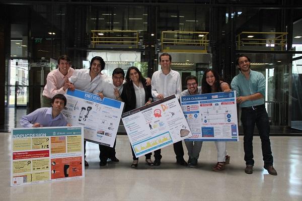 Alumnos INGUC creadores del dispositivo