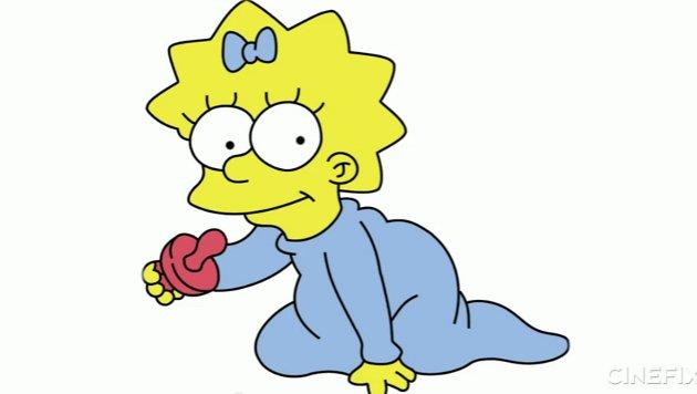 Maggie | Los Simpson
