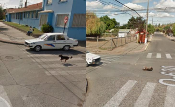 Google Street View en Yumbel