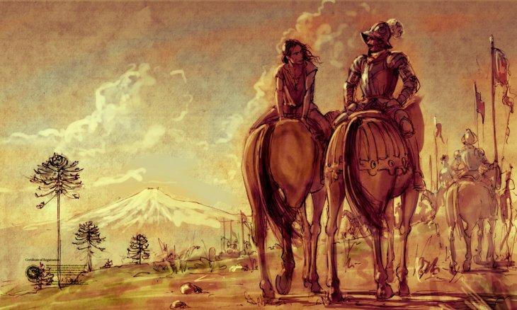 Boceto artístico de Leftraro | Ilustración de Cristian Montes