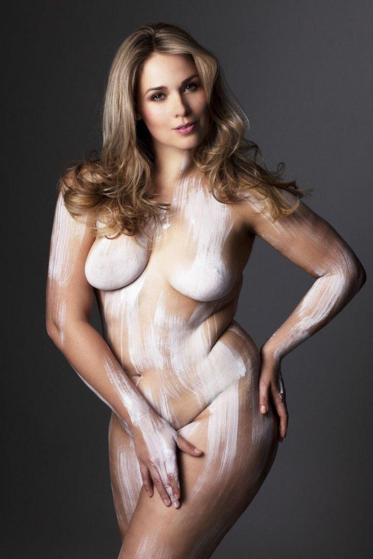 Margarita marie pintura corporal