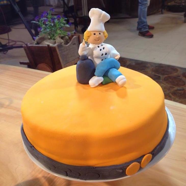 La torta del equipo de las mujeres | @carlo_cocina / Twitter