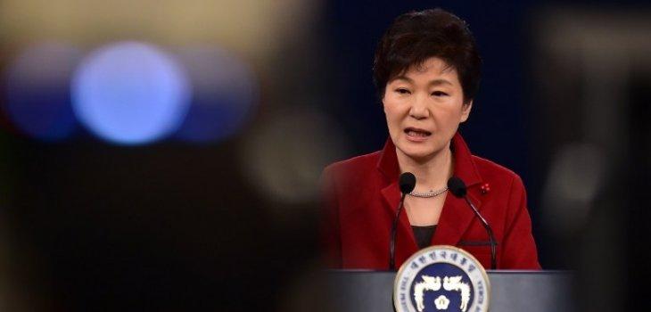 Presidenta surcoreana Park Geun-Hye | Jung Yeon-Je | AFP