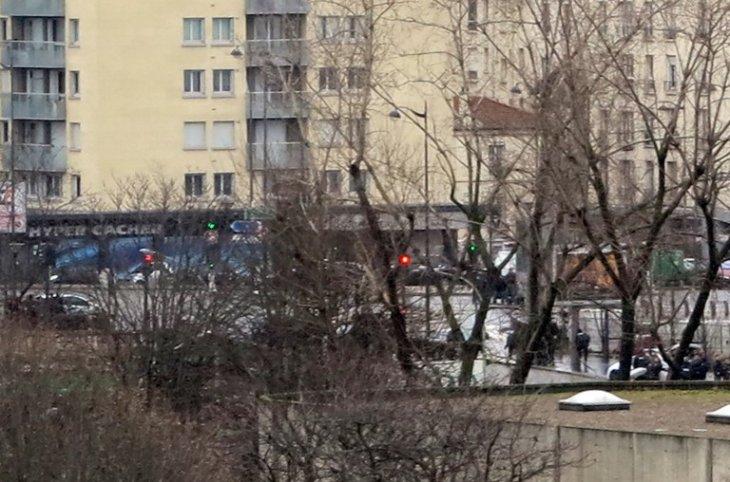 Secuestro en el este de París | AFP