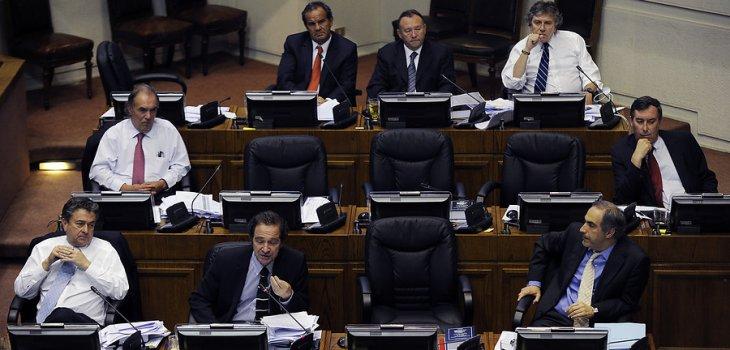 Bancada UDI en el Senado | Pablo Ovalle | Agencia UNO