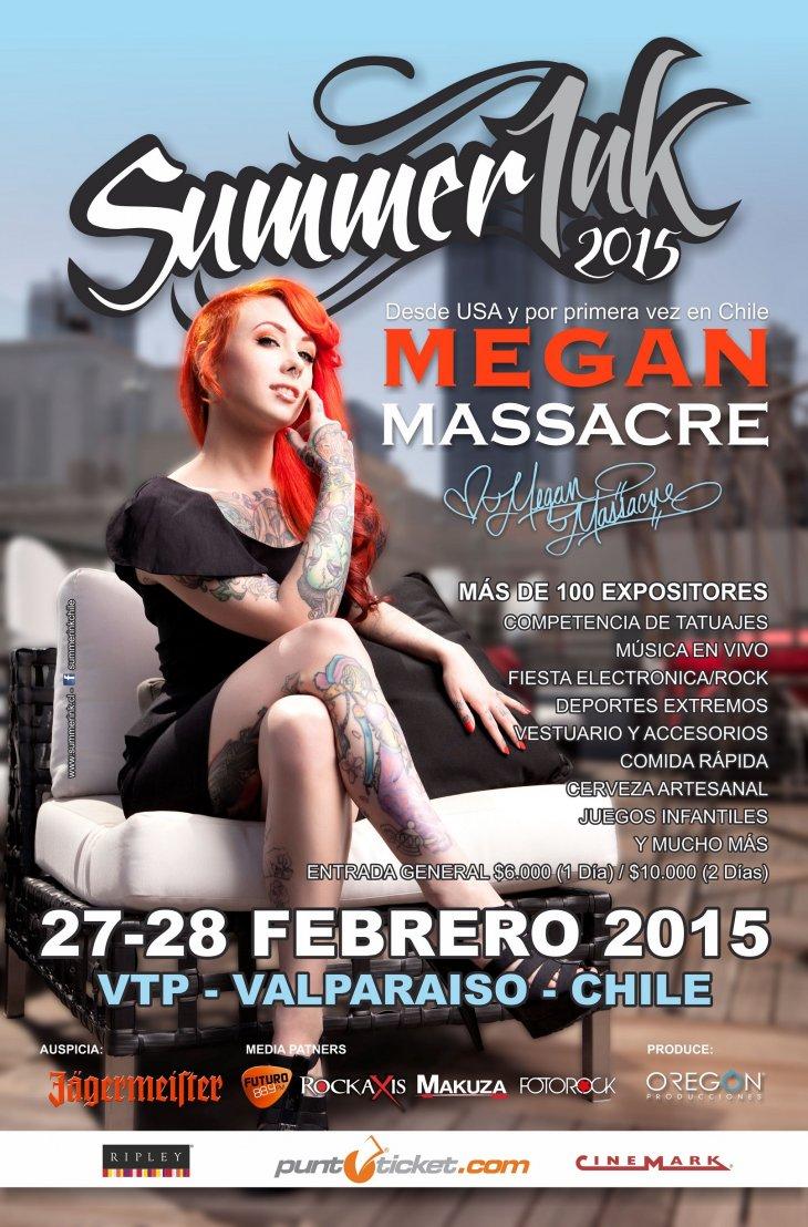 Afiche Oficial 'Summer Ink 2015'