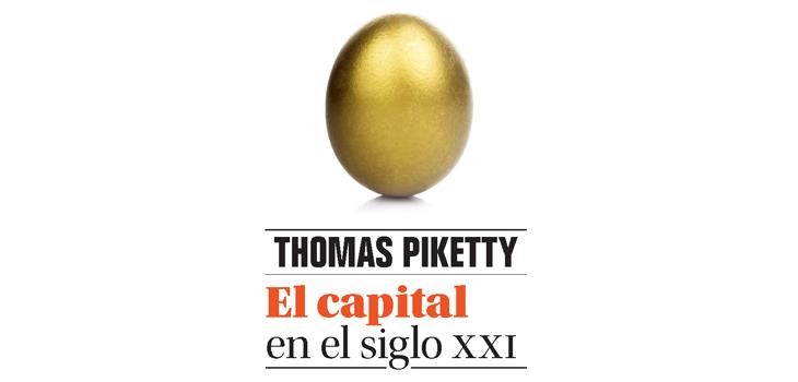 Detalle de la portada de El capital en el siglo XXI