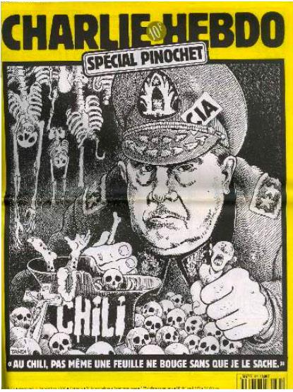 Pinochet 337 Charlie Hebdo