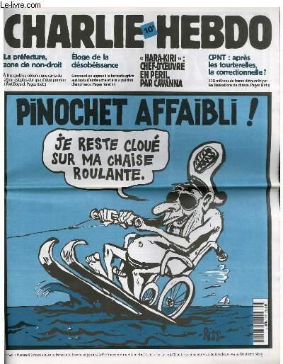 Pinochet 403 Charlie Hebdo