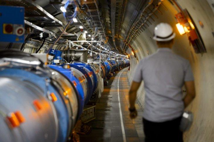El colisionador de hadrones / AFP
